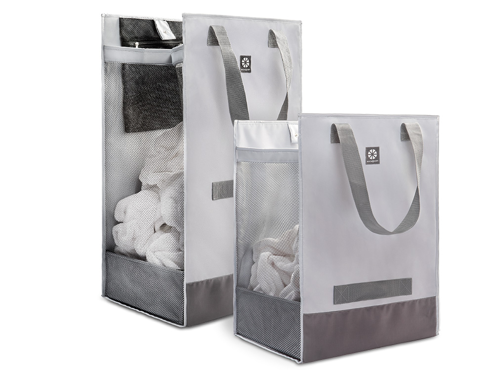 Whom You Know Microdry 174 Large Laundry Hamper Tote