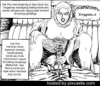 hijab melayu komik hentai