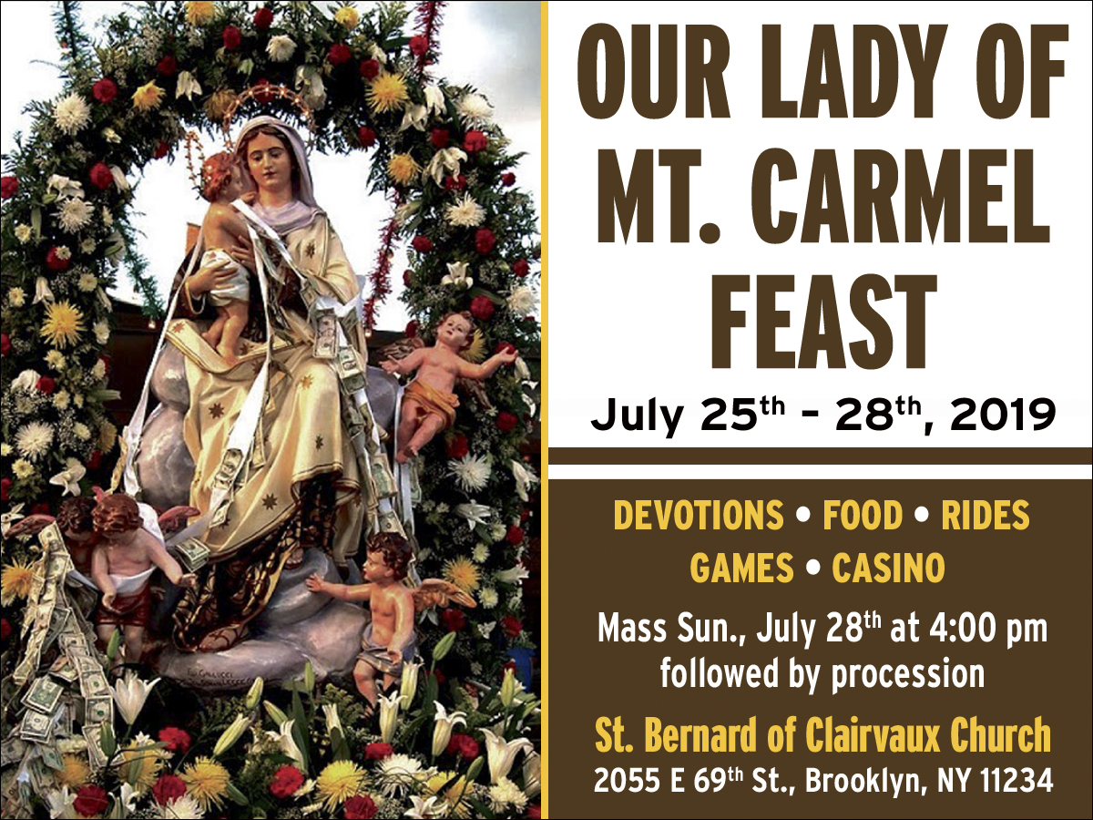 Il Regno: Announcing the 16th Annual Feast of Our Lady of