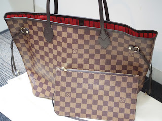 ヴィトンのバッグ ネヴァーフルMM(N41358)を買い取り致しました 国内定価は180,400円です