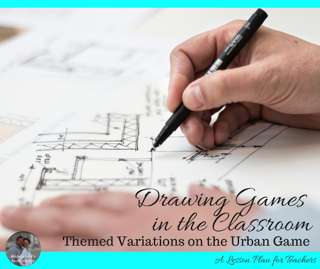 Drawing Games in the Classroom: Themed Variations on the Urban Game