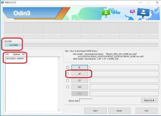 Cara Flash HP Samsung J2 Prime Dengan Odin
