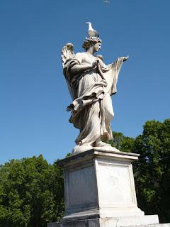 Anjo da decoração da Ponte Sant'Angelo