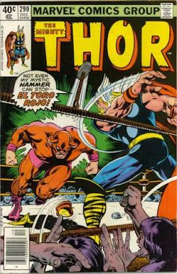 Thor #290, El Toro Rojo