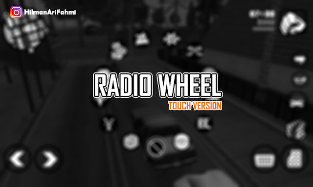 GTA V Radio Wheel for GTA SA Mobile by HAF gtaam