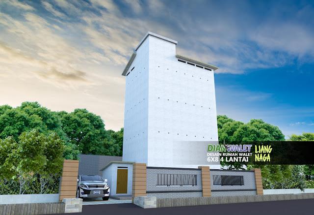 Desain Rumah Walet 6x8 4 Lantai Liang Naga Terbaru