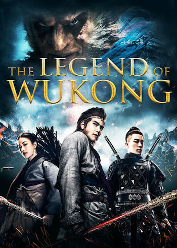 Wu Kong 2017 Hindi Dual Audio BluRay 480p 300Mb
