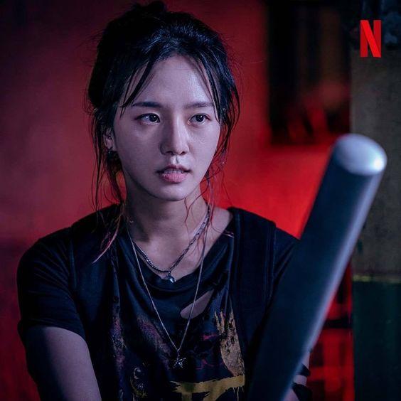 Park Gyu-Young sebagai Yoon Ji Su Karakter dalam Drama Sweet Home