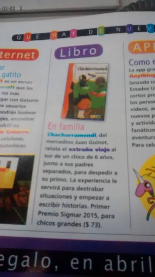 Juan guinot chacharramendi en revista jard n genios for Jardin de genios revista 2016