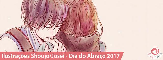 Dia do Abraço 2017 - Ilustração das autoras de Shoujo