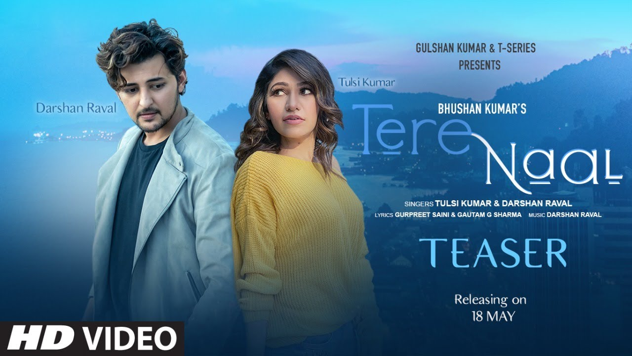 तेरे नाल Tere Naal Lyrics - Darshan Raval