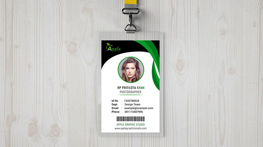 fresh corporate id card