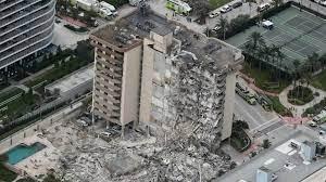 Apartment Building Collapses In Florida