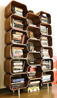 Amazing mid-century bookcases design for decorating idea