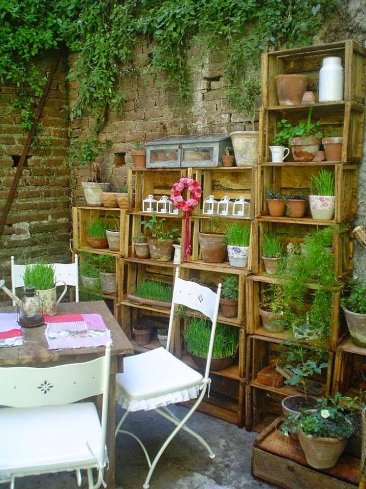 Sanas y lindas jardines verticales for Bistro del jardin mallorca
