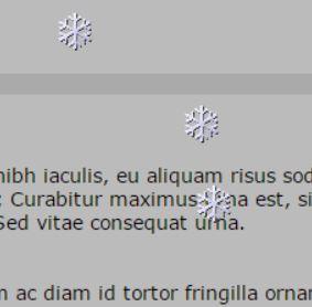 Χριστουγεννιατικα widgets χιονοπτωσης