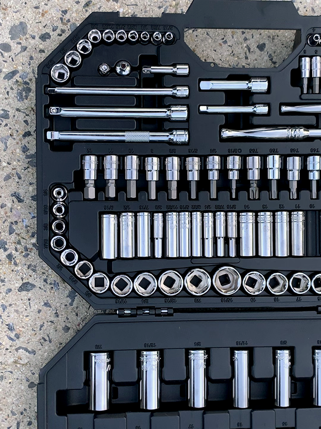 Husky - 125-Piece Mechanics Tool Set