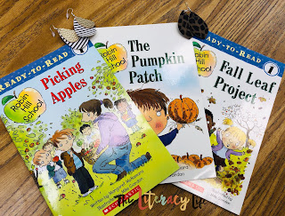 Fall is the perfect time for great books and fun fashion statements. The books all have a common theme of fall and the earrings make fall more fun!