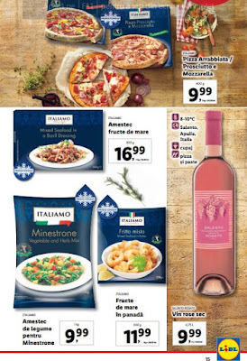 brosura oferte saptamana italiana lidl 25 mai 31 mai 2020