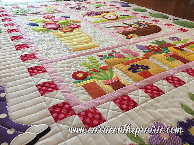 http://carrieontheprairie.blogspot.com/2019/05/lornas-gardening-quilt.html