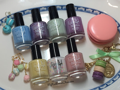 Girly BIts Cosmetics Sweet Nothings Collection, Spring 2016