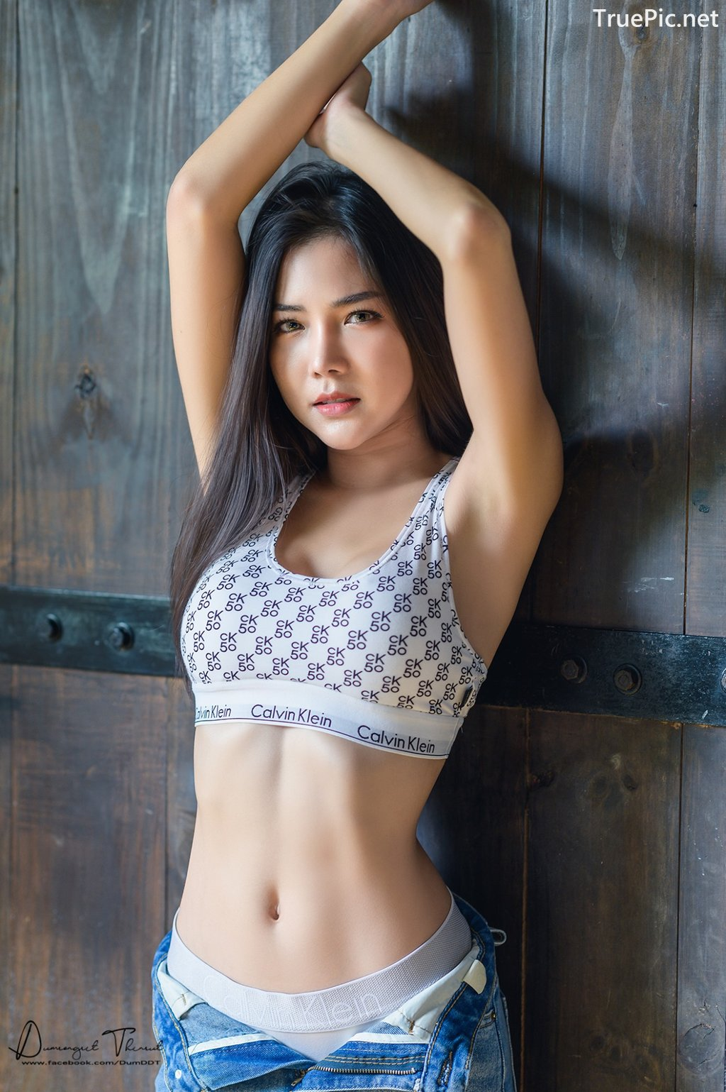 Image-Hot-Girl-Thailand-Phitchamol-Srijantanet-Sexy-Beauty-With-Sport-Bra-and-Monokini-TruePic.net- Picture-3