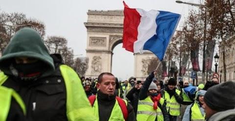 Francia zavargások - Párizsban békés felvonulások, Toulouse-ban összetűzések voltak