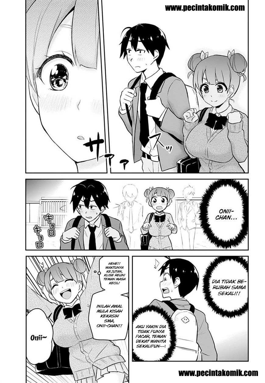 Manga Hajimete No Gal Chapter 28 Bahasa Indonesia