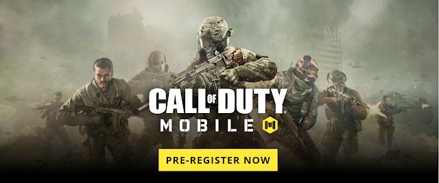 قريبًا، اول إصدار من لعبة Call Of Duty Mobile على الهواتف الأندرويد