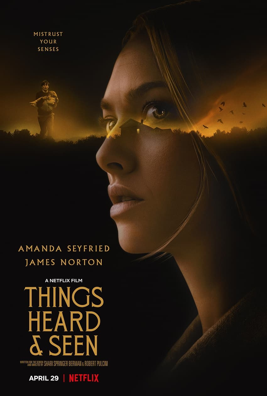 Netflix показал трейлер хоррора «Увиденное и услышанное» - Постер
