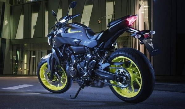 Yamaha MT-07 Night Fluo New Look 2016