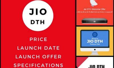 jio dth price - online booking - plans - customer care number