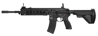 Senapan HK416F