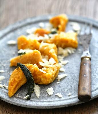 gnocchi de potimarron, parmesan et sauge
