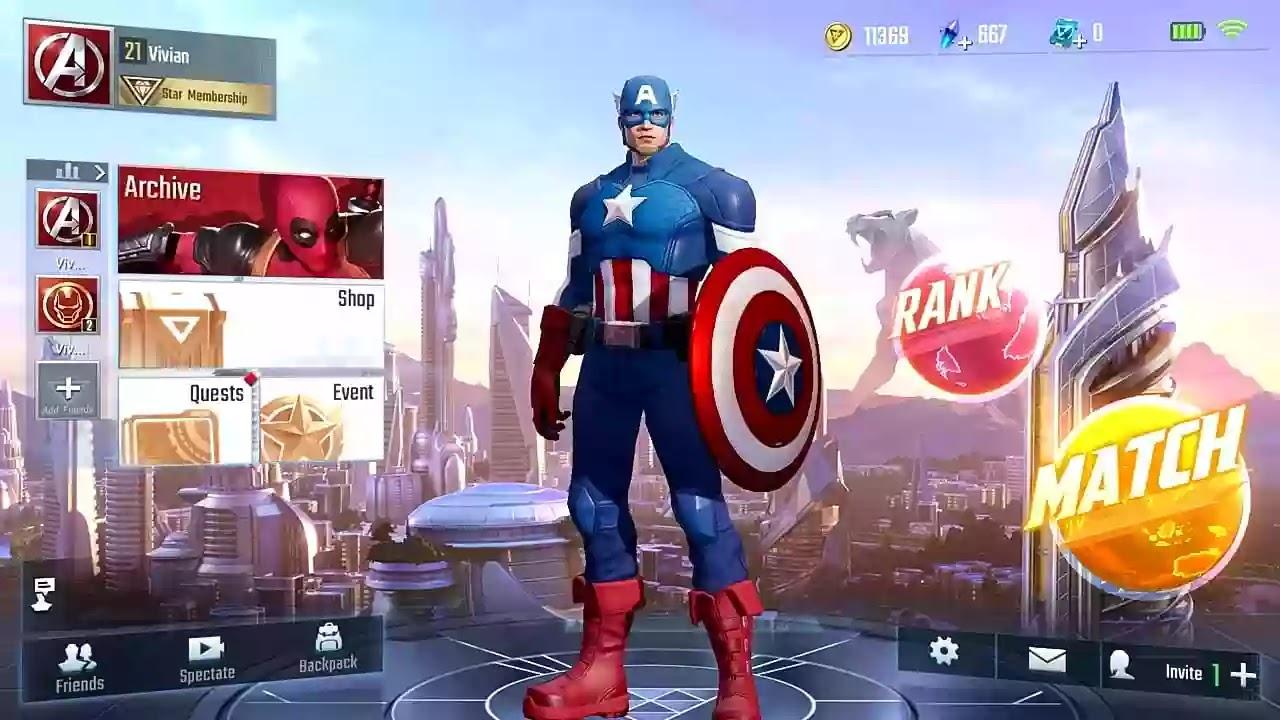 Captain America Super war apk