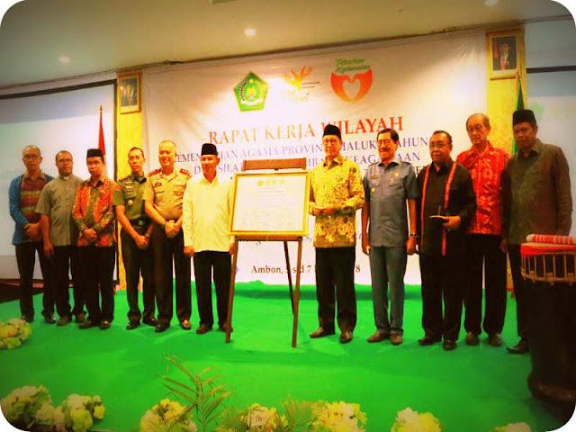Tokoh Agama Maluku Sepakati Piagam Deklarasi Cinta Damai