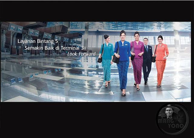 Garuda Indonesia Pindah ke Terminal 3 Bandara Soekarno - Hata