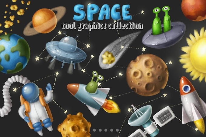 Space Objects Collection[Photoshop][4672624]