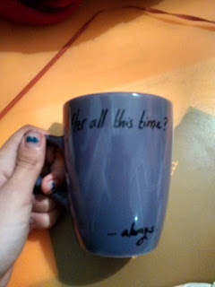taza harry potter