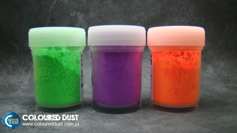 Glowing pigments from PK-PRO