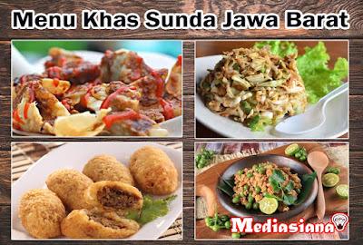 Menu Makanan Khas Sunda Jawa Barat