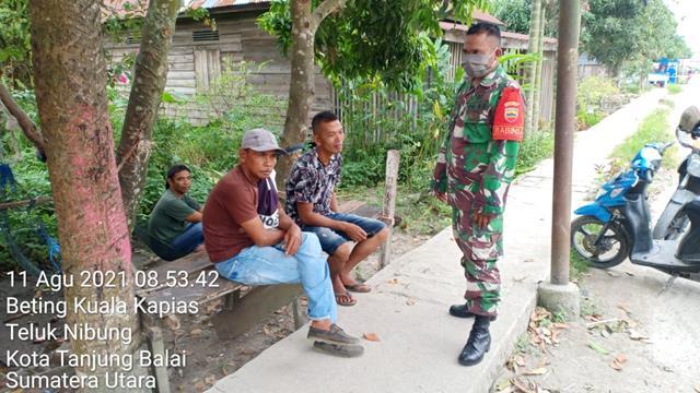 Jalin Silaturahmi, Personel Jajaran Kodim 0208/Asahan Lasanakan Komsos Dengan Himbau Patuhi Protkes Terhadap Warga Binaan