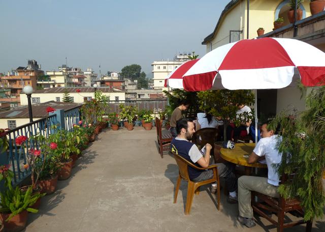 Terraza del Katmandu Madhuban Guest House