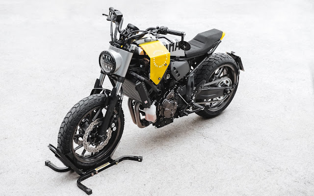 Yamaha XSR700 1981 By Hookie Co. Hell Kustom