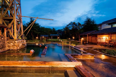 Tatsunokuchi Onsen Open Air Natural Hot Spring Bath