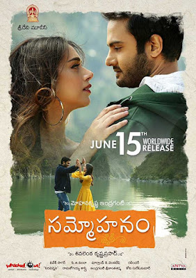 Poster Sammohanam 2018 Hindi Dubbed HD 1080p