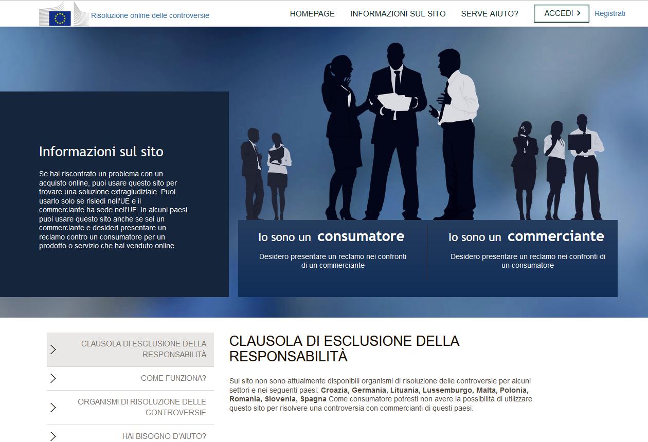 O.d.r. - Risolvere le liti sorte a seguito di acquisti di beni o servizi online : Signor Julent
