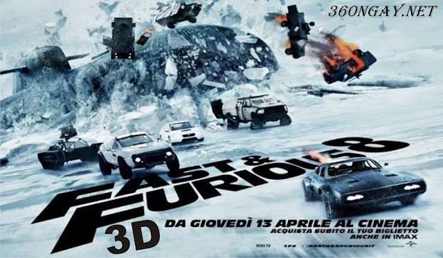 Phim Lẻ Quá Nhanh Quá Nguy Hiểm - Fast & Furious 8: The Fate of the Furious (2017)