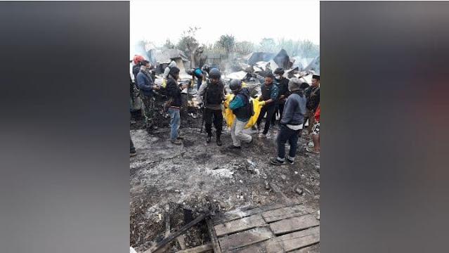 32 Bangunan Warga Terbakar, 1 Orang Meninggal Dunia dalam Kericuhan di Dogiyai