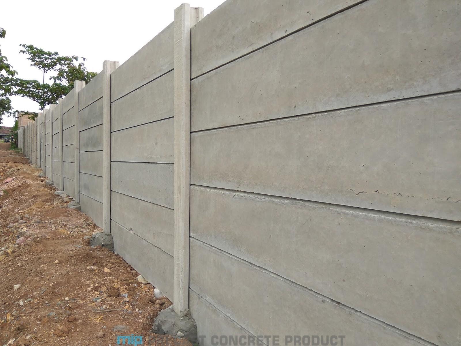 harga pagar panel beton megacon Suruh Ungaran